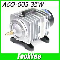 Free shipping RESUN ACO-003 35W 220V Electromagnetic air pump ACO series Fish Aquarium Air compressor #AP032