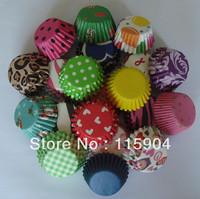 100pcs MIXED 4 COLORS 25PCS EACH mini  cupcake liners baking cup cake wrapper