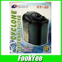 Free Shipping Resun Aquarium External Canister Filter 60L CY-20 Fish tank AC 220V #AR022