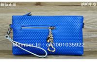 2013 Hot Sell Skull Women genuine Leather Shoulder Bags Women Handbags Fashion Ladies Messenger EnvelopeBag Totes With Chain