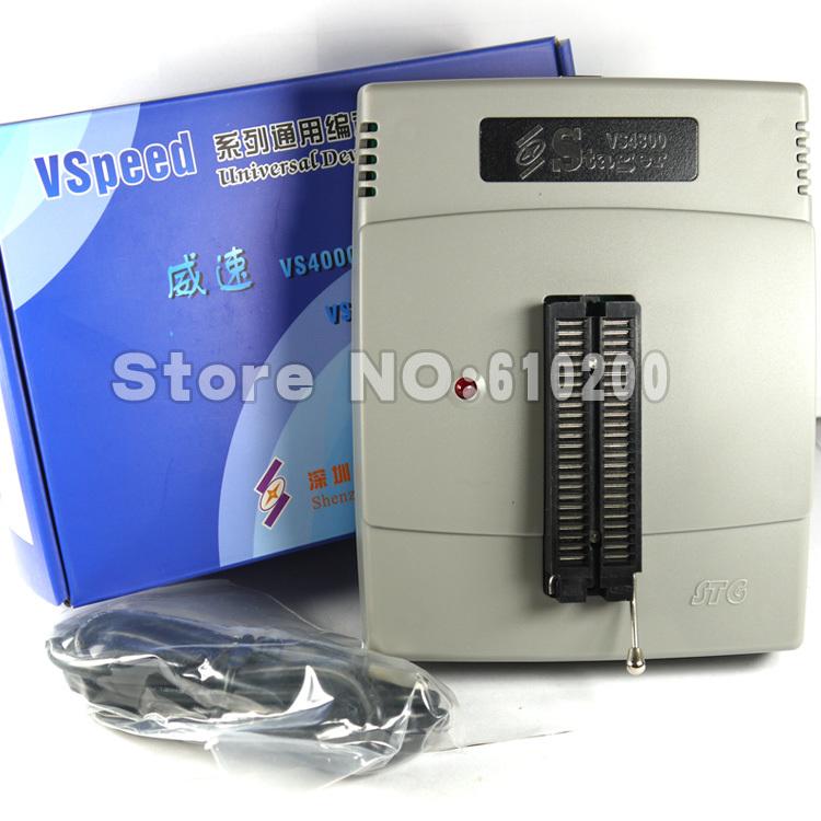 FreeShipping NEW VSpeed series VS4800 High Performance USB Universal programmer support 48pins 15000 IC for EEPROM,FLASH,MCU,PLD(China (Mainland))