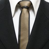 New Trend Mens Skinny Neckties For Men Brown Casual Novelty Neck Ties Gravatas 5CM F5-F-2