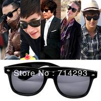 Fashion Cool Clear Lens Frame Wayfarer Nerd Glasses Black Drop Shipping 624