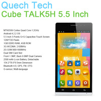 New Product Android 4.2 OS 5.5 Inch Smart Phone Cube TALK5H A5300 MTK6589 Quad Core GPS Bluetooth 8MP Back Camera Dual SIM Card