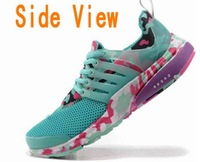 hot!Free shipping women sport shoes,new air mesh Breathable camouflage Camo presto,NK brand women shoes!!