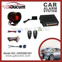 one way car alarm system promotion