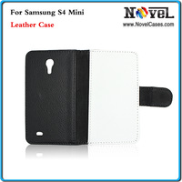 Free Shipping Sublimation Leather case for Samsung Galaxy S4 Mini