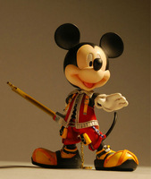 Free shipping Kingdom Hearts II Series King Mickey (KH II Ver.) Play Arts anime PVC Action Figure toy in box