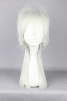 Free Shipping 50cm  Makishima Shogo white color Anime Cosplay Costume Wig