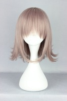High Quanlity  Beautiful Fashion Style 35cm The broken 2 projectile-Nanami chiaki taro Color synthetic wig Anime Cosplay  Wig