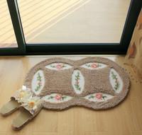 Rolling in pastoral style carpet mats non-slip bath mats floor mats FREE SHIPPING