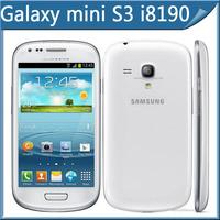 Galaxy S3 Unlocked Original I8190 Galaxy S III mini Android Dual-core 8GB Storage Wifi GPS 5MP Camera Cell phone Refurbished