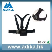 Fashion Accessories A Model Chest Band with B Bodel Head Band for Gopro 3/2/1, Gopro Accessories GP59