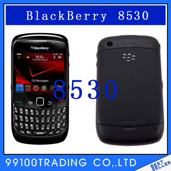 Unlocked BlackBerry Curve CDMA 8530 Cell Phone 3G WIFI GPS free shipping Refurbished