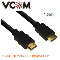 1.8m VCOM Brand High Speed with Ethernet - Supports 3D, Ausodio Return Channel and Up To 4K Relution HDMI Cable