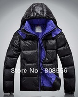 Free shipping 2013 new Men's coat Winter overcoat Outwear jacket wholesale men's brand Thick down jacket excellent quality