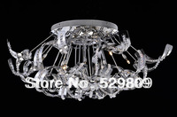 Free shipping Hot sales Dia520mm*H290mm Ball design G9 bulb Modern Crystal ceiling light lamps for home Crystal ceiling