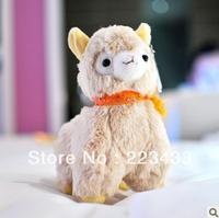 Wholesale 40cm Japanese plush toys Arpakasso amuse; Genuine plush alpaca with tags 3 types to choose 20pcs/Lot EMS Free Shipping
