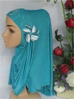Free Shipping,fashion women Muslim hijab with windmill flower , fashion muslim bandanas,islamic scarf,arabic hijab,fast shipping