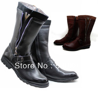13 cool fashion personality male boots cool trend of the denim boots high-leg boots