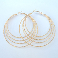 Min Order $10 2013 Fashion Hoop Earrings DME038 Magi Jewelry Mix Order