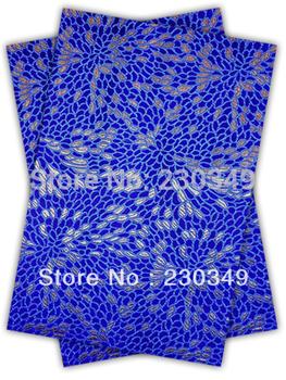 Free shippig African headtie,Head Gear, Sego Gele&Ipele,Head Tie & Wrapper, 2pcs/set ,ROYAL BLUE