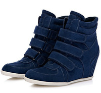 Drop/Free Shipping Isabel Marant  Increased within  Boots Height Increasing Sneakers New style  Shoes color A126