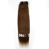 """12""""-26"""" #10 100g Peruvian VIrgin Human Hair Weft SIlky Straight Unprocessed Hair Weave Full Remy   Hair Weft Free Shipping"""