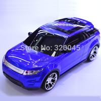 Free shipping Car Shape mini speaker Portable loud voice for gift  mini SUVs speaker with LCD Screen SD/TF card FM radio