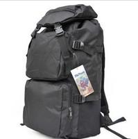 Big black bag fashionable men and women backpack shoulder bag large capacity oxford canvas duffle bag free shipping