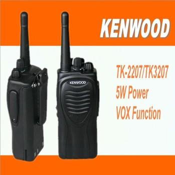 DHL/EMS Freeshipping +TK-2207 TK2207 walkie-talkie station vhf ham radio transceiver portable amateur radio transmitter tk 2207