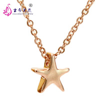Free Shipping 2013 New Fashion Hot Sale Korean Jewelry Exquisite Five-Pointed Star Clavicle Chain Tanabata Gift for Girl Friend