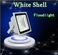 10w 20w 30W 50W White Shell High Power Landscape Lighting LED Wash Flood Light Floodlight IP65 Outdoor Lamp& DHL free shipping