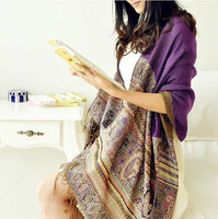 Free Shipping!!! Hot-Sale Products!!!Paris Fashion, National Long Tassels To Keep Warm Scarf.