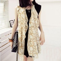Free Shipping!!! Hot-Sale Products!!! Paris Fashion, National Serial Gold Chain Scarf.