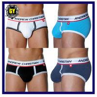 Free shipping! Supernona sale 4 pieces lot men's underwear Fashion men's modal briefs man sexy pants brand cuecas briefs (N-301)