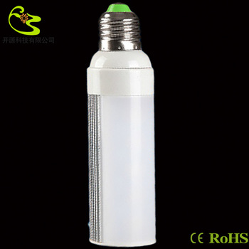 Free shipping 9w e27 horizon led corn light bulb 810lm High quality 85-265v e27 corn 5050