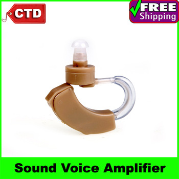 Mini and Convenient Hearing Aid Deaf Aid Sound Audiphone Voice Amplifier with 3 soft ear plug