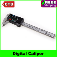 100mm 4inch Stainless Steel Digital Caliper Vernier Gauge Micrometer, Digital Measure tool with LCD
