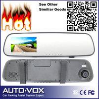 "3.0"" Display HD Car DVR 1080P Car Rearview Mirror DVR Parking Camera IR Night Vision+Motion Detection"