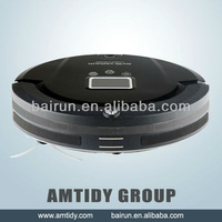 (Free To Malaysia) Floor Sweeper Robot Vacuum LCD Screen,Touch Button,Schedule,Virtual Wall,Self Charging