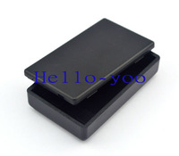 Free shipping (2pieces/lot) 58X35X15mm (L*W*H) Black Plastic Project Box