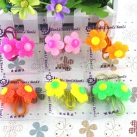 Free shipping 6pairs/Lot Korean style hair bands for children Popular girl hair accessories Cheap hair decorations Cool hair tie