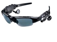 Brand New Hotsale MP3 Bluetooth Sunglass With Upturnable Lens and Stereo Sound Free Shipping+Drop Shipping 1pcs