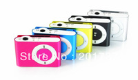 Hot selling 5pcs/lots freeshipping MINI clip MP3 Player with Micro TF/SD card Slot wi,clip mp3 player