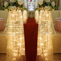 2.5 M 20pcs LED String Light Decoration Light for Wedding Garland Birthday Decoration Flasher  With 9 Display Mode Free Shipping