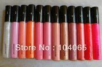 Free Shipping New Makeup Lip Gloss 1.92g Have English Name #1-#12(6pcs/lot)