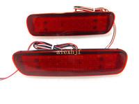 Car brake light, car modified light , Car rear LED fog light for Land Cruise FJ 100, 1sets/lot, 24pcs LEDs, free shipping