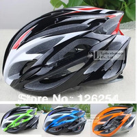 2014 Free Shipping Road Bike Cycling bicycle Helmet Super Light Sport  Helmets bicycle cycling +Color Box Bike  Parts