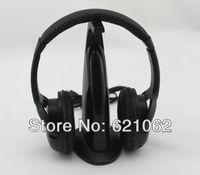 Multifunction 5 in 1 HiFi Wireless Headphone Earphone Headset Wireless Monitor FM Radio MP3 PC TV Audio Phones Free Shipping